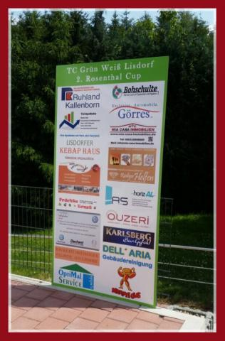 Werbe Tafel LIsdorf